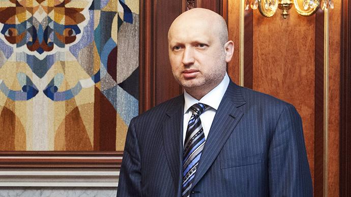Aleksandr Turchynov (AFP Photo / Anastasiya Sirotkina)