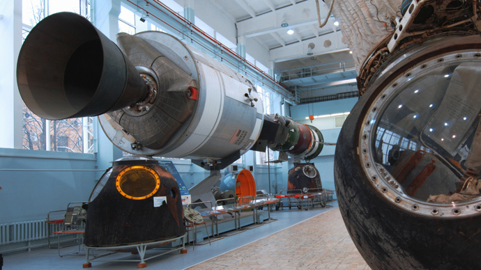 Soyuz and Apollo spacecraft involved in the July 1975 Apollo-Soyuz Test Project (ASTP) (RIA Novosti)