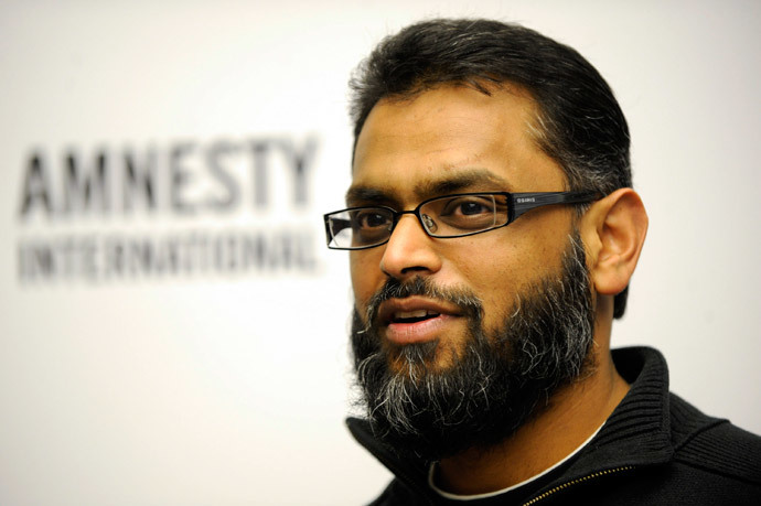 Moazzam Begg (AFP Photo DDP / Simon Klingert Germany out)