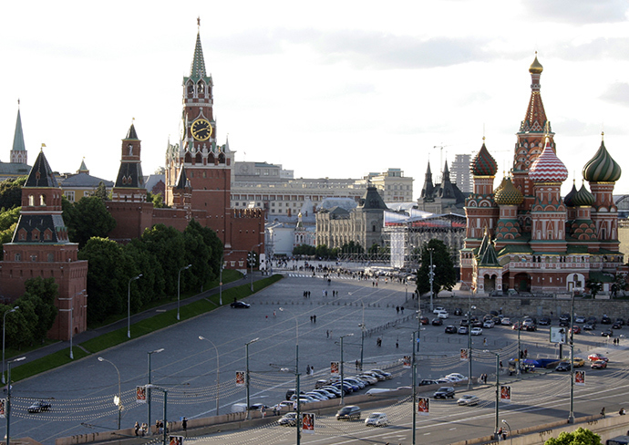 View of the Kremlin and St. Basil Cathedral (RIA Novosti / Anton Denisov)