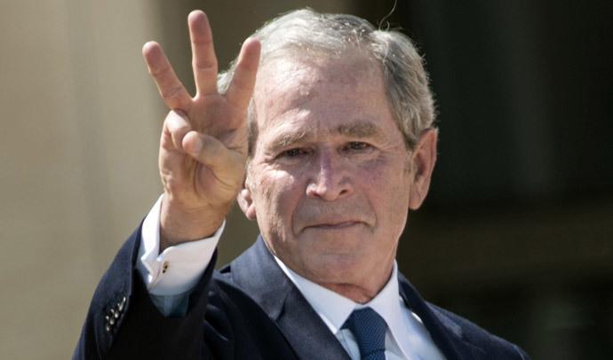 George W. Bush (AFP Photo / Brendan Smialowski)