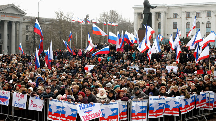 ​Crimea – another artificially created crisis
