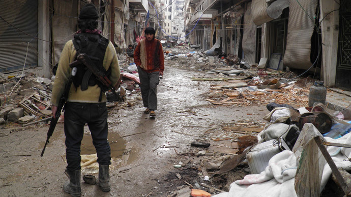 Suffering continues in Syria 3 years on