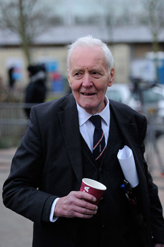 Tony Benn.(AFP Photo / Carl Court)
