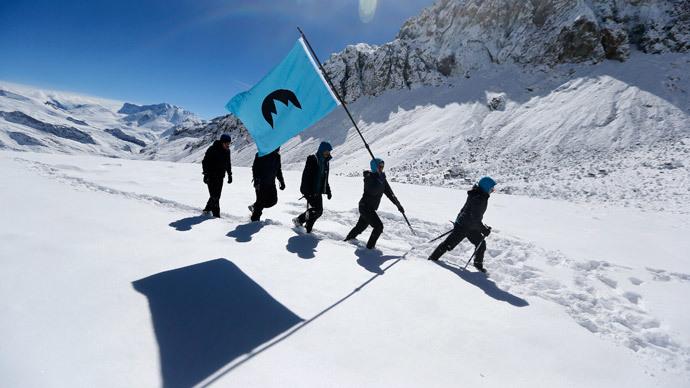 Greenpeace strikes again with 'Glacier Republic'!