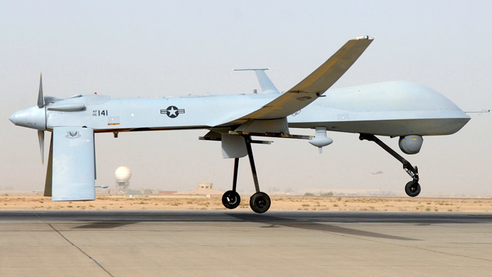 MQ-1B Predator.(Reuters / Senior Airman Julianne Showalter)