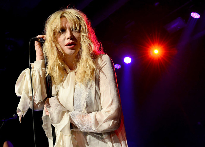 Recording artist Courtney Love.(AFP Photo / Ethan Miller)