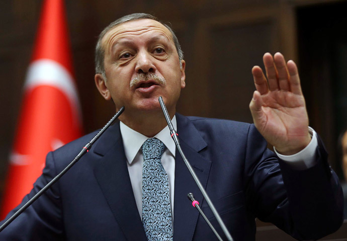 Turkey's Prime Minister Recep Tayyip Erdogan.(AFP Photo / Adem Altan)