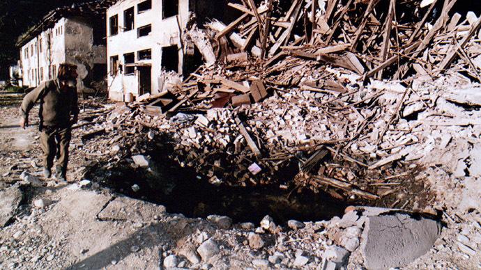 NATO bombing of Yugoslavia: Symbolic stage of current World War