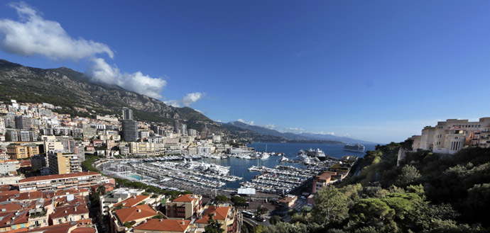 General view of the port of Monaco (Reuters)