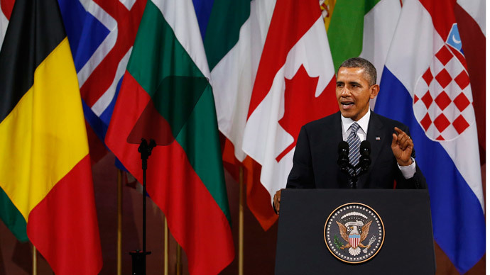 'US foreign policy based purely on bullying smaller nations'