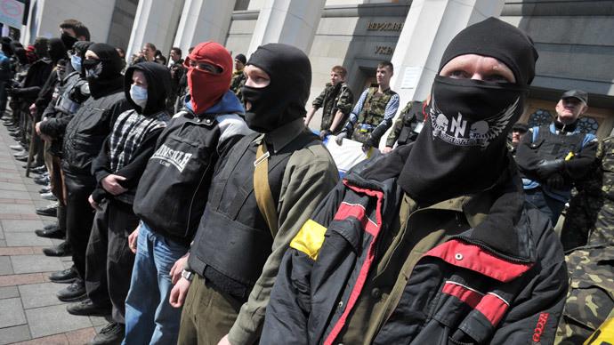 Nationalists 'no longer useful, embarrassing' to Ukraine putsch regime