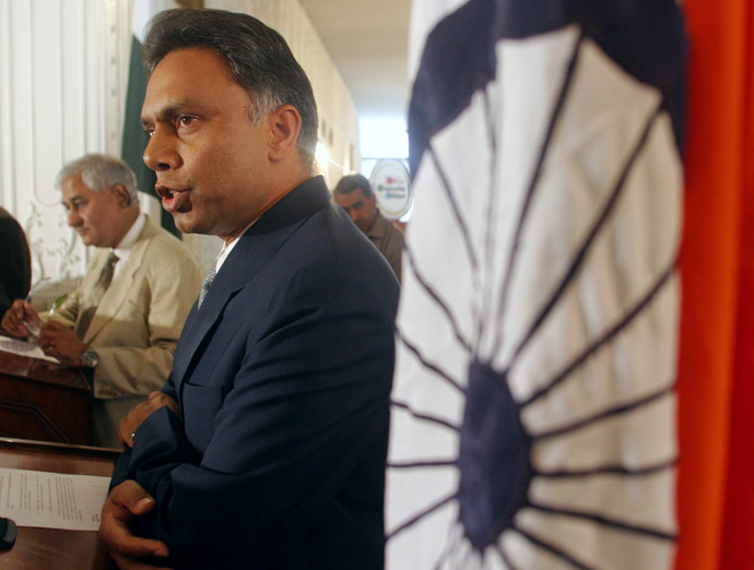 India's Permanent Representative to the UN Offices in Geneva, Dilip Sinha.(Reuters / Faisal Mahmood)