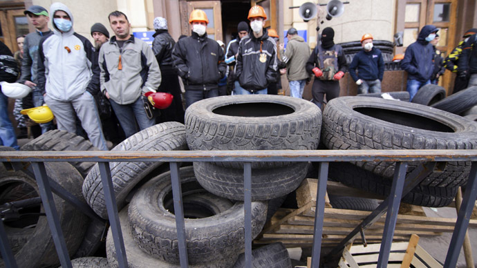 'Still time to negotiate with protesters in Eastern Ukraine'