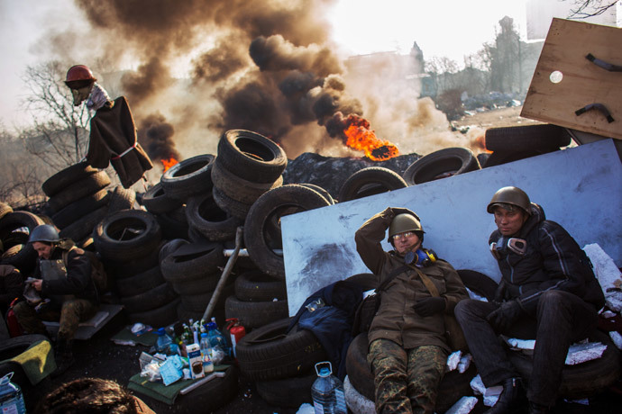 Kiev on 21 February, 2014 (RIA Novosti / Andrey Stenin)