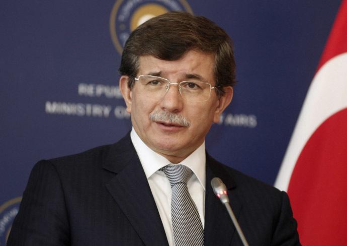 Turkey's Foreign Minister Ahmet Davutoglu (Reuters/Osman Orsal)