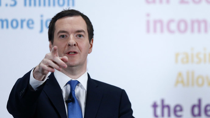 Britain's Chancellor of the Exchequer George Osborne (Reuters)