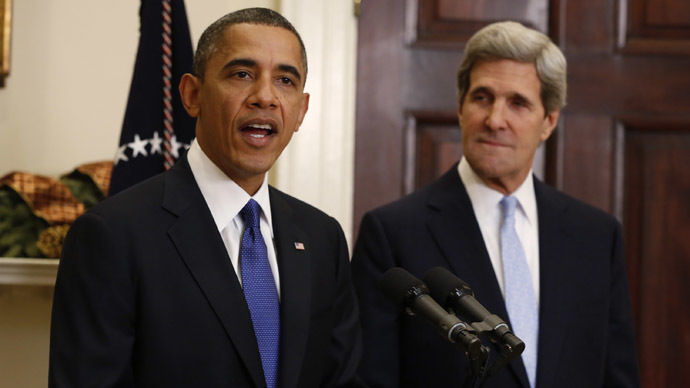 'Obama and Kerry fail to show leadership qualities required to settle Ukrainian issue'