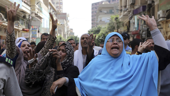 Political cleansing in Egypt is full speed ahead