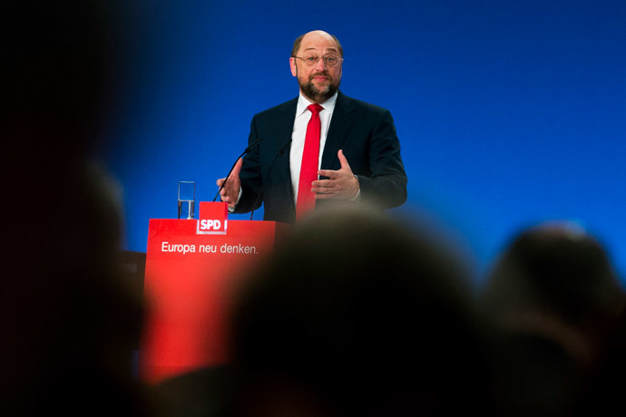 Martin Schulz (Reuters / Thomas Peter)