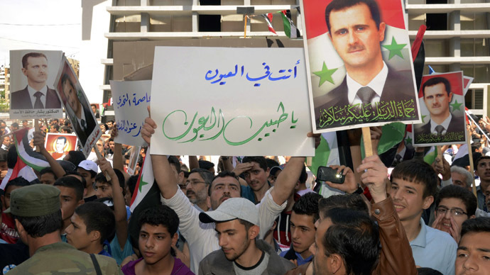 Syria election: Vote the right way – or else