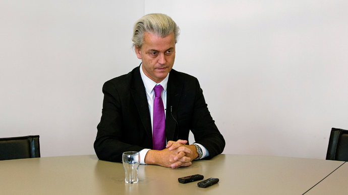 Freedom Party (PVV) leader Geert Wilders (Reuters / Michael Kooren)