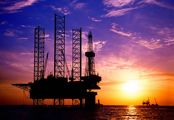 China National Offshore Oil Corporation's (CNOOC) oil rig in China's Bohai Sea (AFP Photo / China Daily)