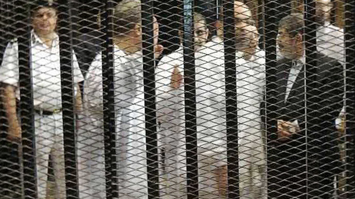 'Egyptian authorities are afraid even of Morsi's silence in the courtroom'