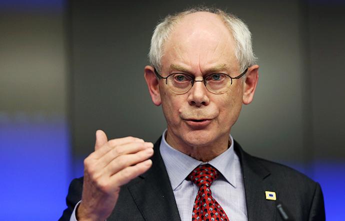 European Council President Herman Van Rompuy (Reuters / Francois Lenoir)
