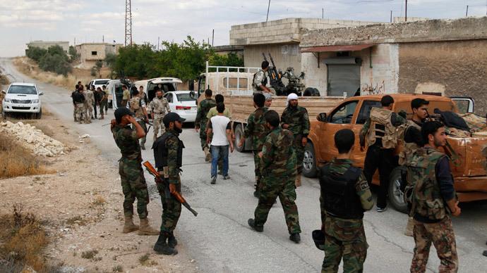 Reuters / Rasem Ghareeb
