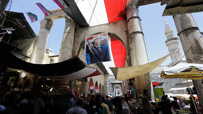 'Syrian elections show real Western contempt for democracy'