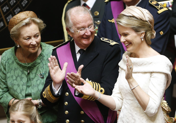 King Albert II of Belgium (Reuters/Vincent Kessler)
