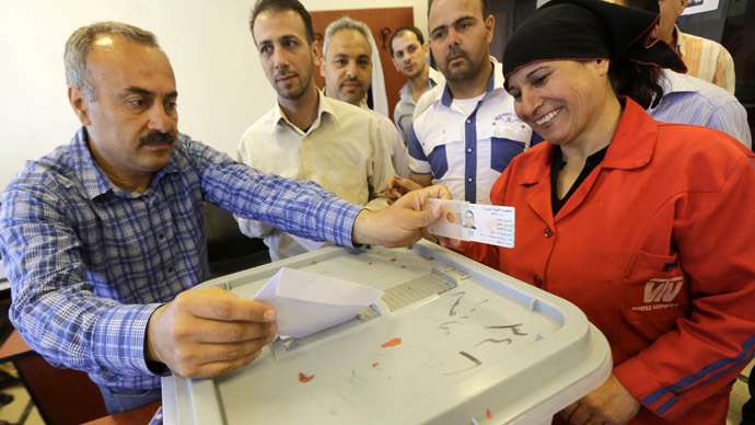 Western focus on 'delegitimizing' Syria election
