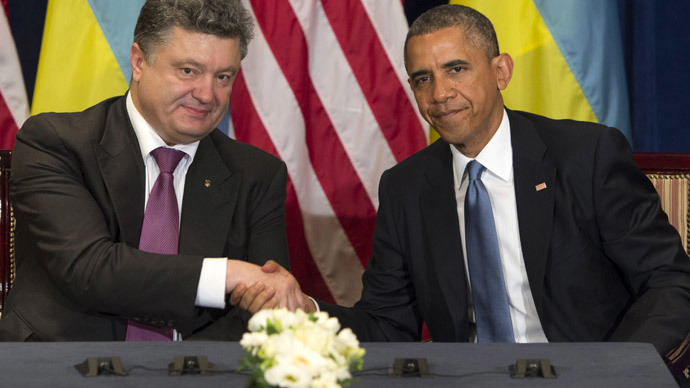 'Obama defending legitimacy of Ukraine's election signals the bankruptcy of US foreign policy'