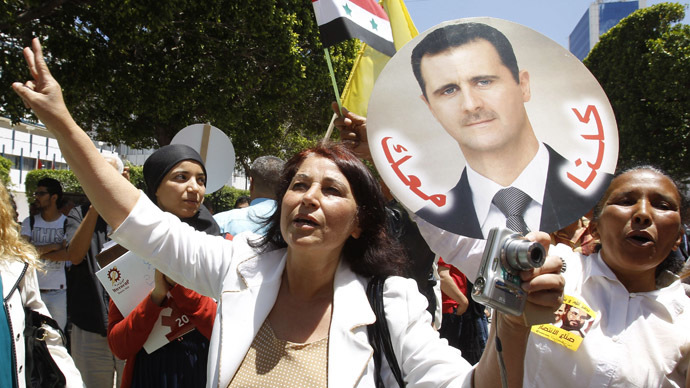 Western hypocrisy rejected: Syria's people make their choice