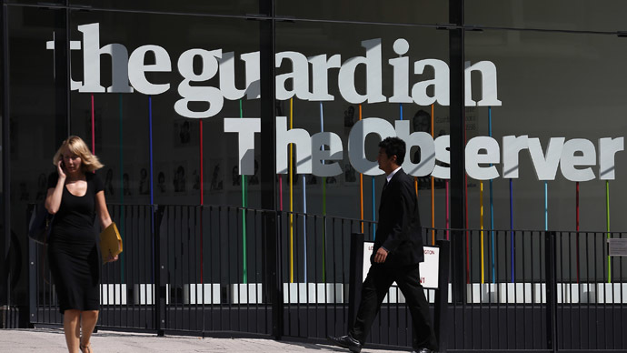 No more the Guardian of quality reporting?