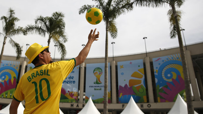 Brazil countdown: Get me to the World Cup on time!