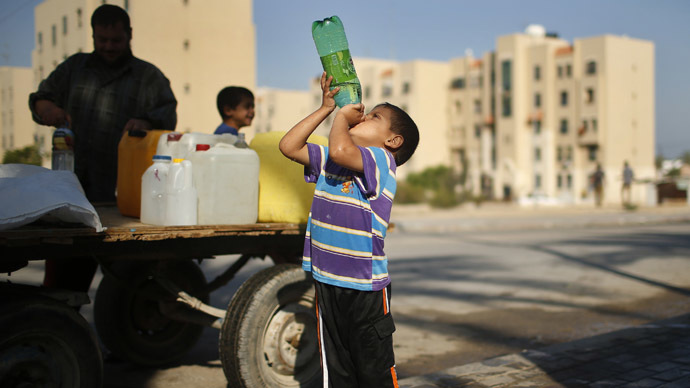 'Water issue held hostage to the detriment of the Israelis and Palestinians'