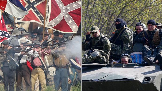 Cohen on Ukraine civil war: 'Lincoln didn't call Confederates terrorists'