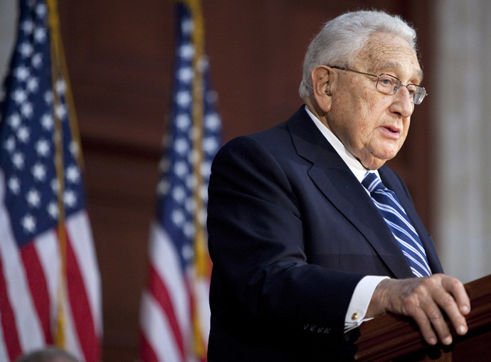 Former U.S. Secretary of State Henry Kissinger (Reuters)