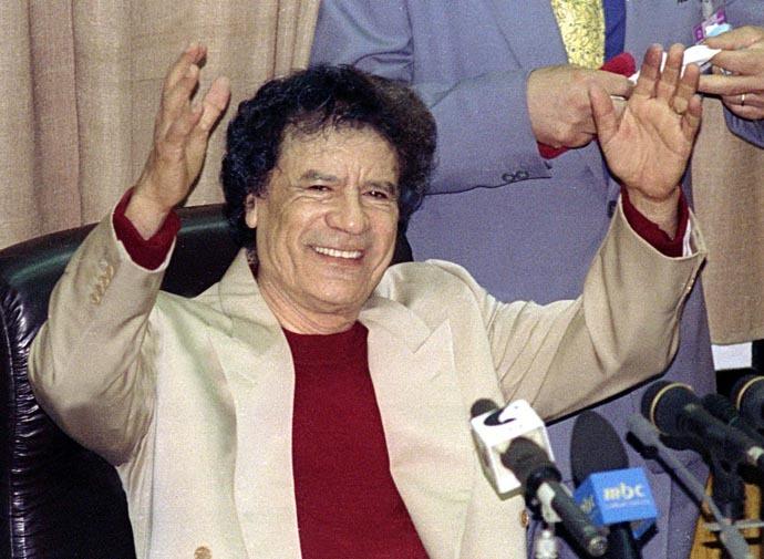 Muammar Gaddafi (Reuters)