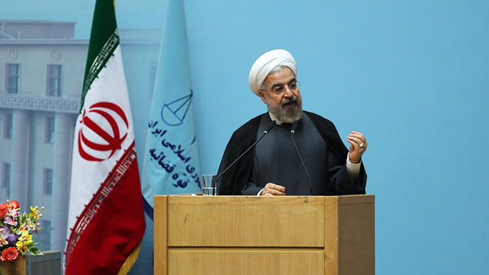 Between Scylla and Charybdis: Rouhani's one year in office