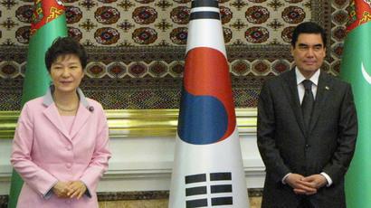 South Korea 'knocking at Eurasian door'