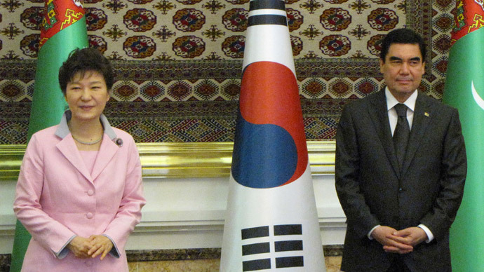 ​South Korea 'knocking at Eurasian door'