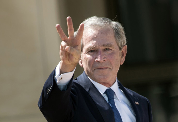 Former US President George W. Bush (AFP Photo / Brendan Smialowski)