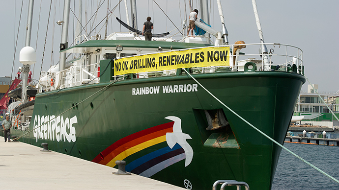 'Greenpeace escapes from own objectives'