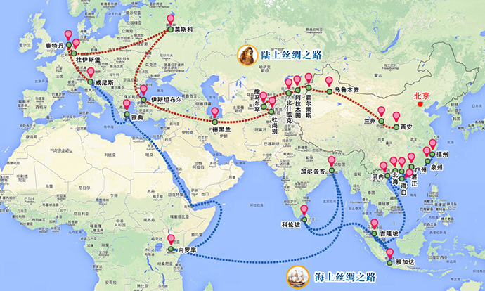 Map from xinhuanet.com