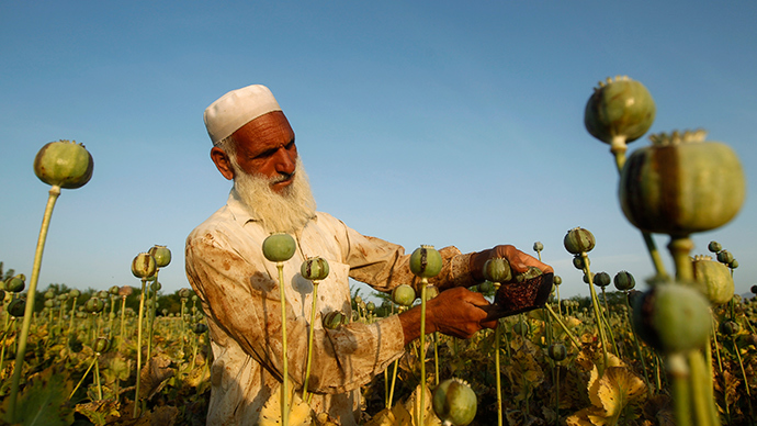 Afghan drugs are still a major global problem