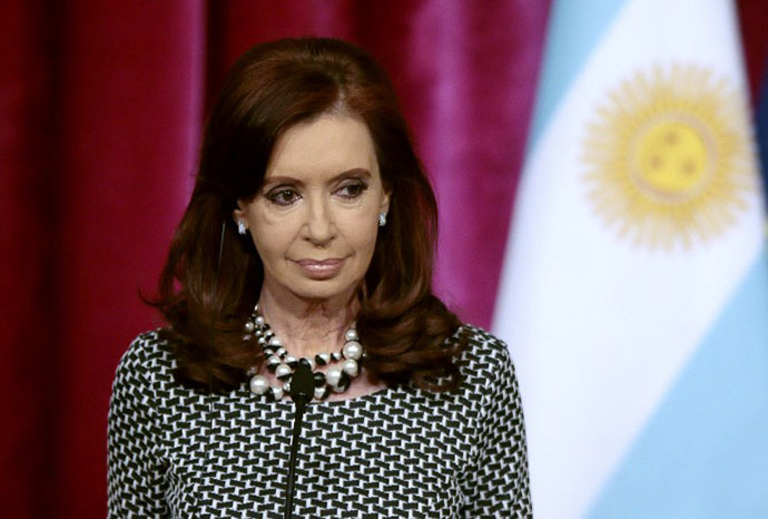 Argentinian President Cristina Kirchner (AFP Photo / Jacques Demarthon)