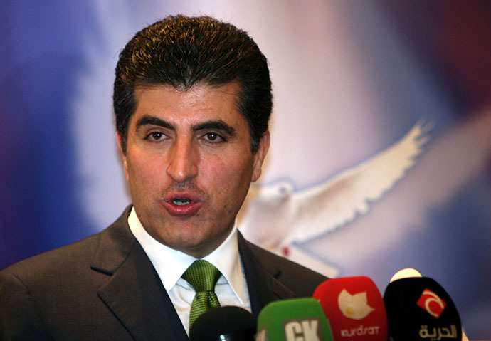 Nechirvan Barzani, prime minister of Iraqi Kurdistan's regional government. (AFP Photo / Safin Hamed)